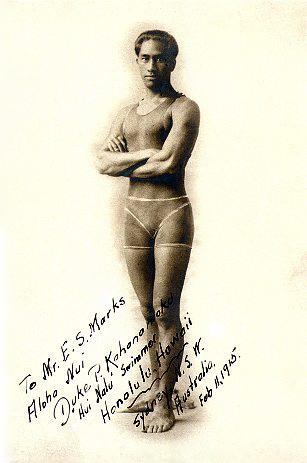 Portrait of Duke Kahanamoku