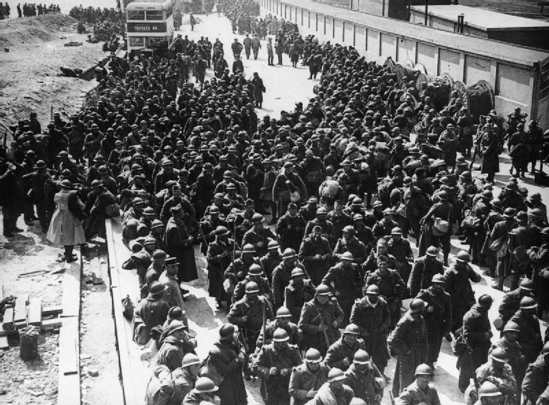 Dunkerque y el retiro de Francia 1940 HU104613.jpg
