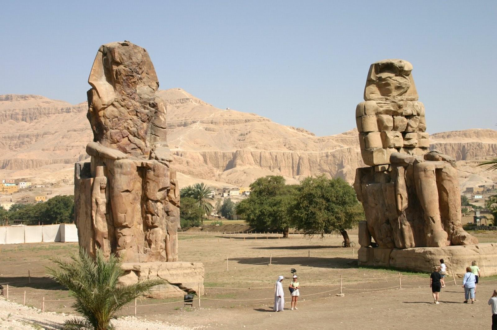 Colossi di Memnone - Faraone Amenolfi III