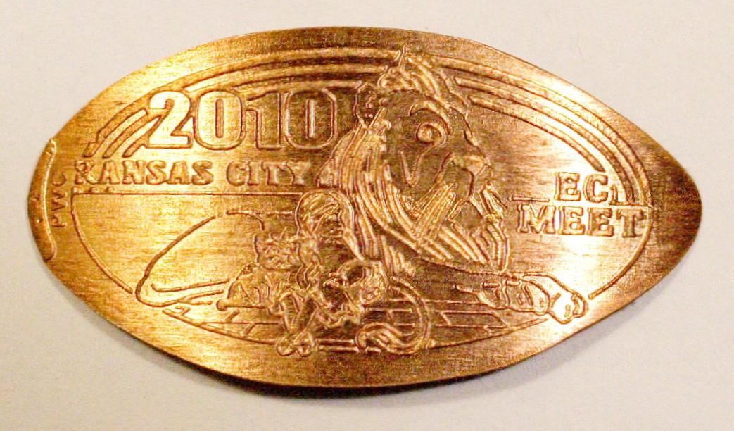 elongated coin sammelalbum