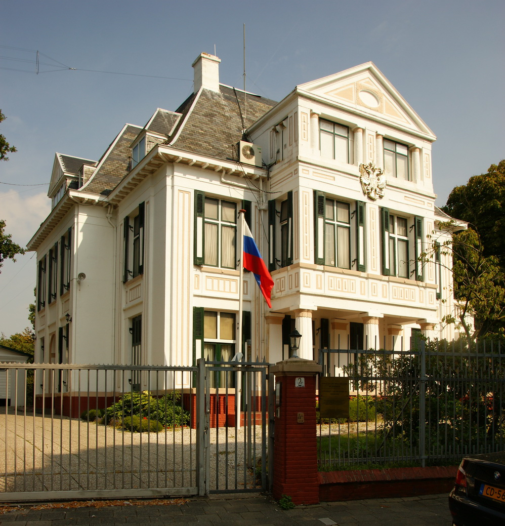 The Hague Russian Embassy In 2