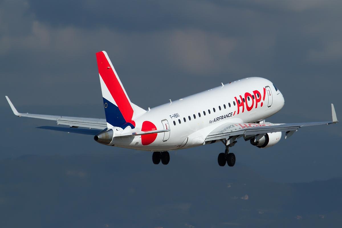File Embraer 170 100std Hop For Air France Jp7682603 Jpg Wikimedia Commons