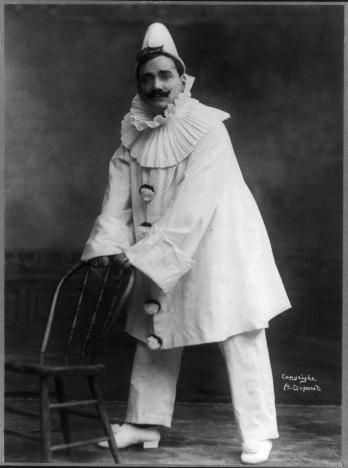 Depiction of Pagliacci