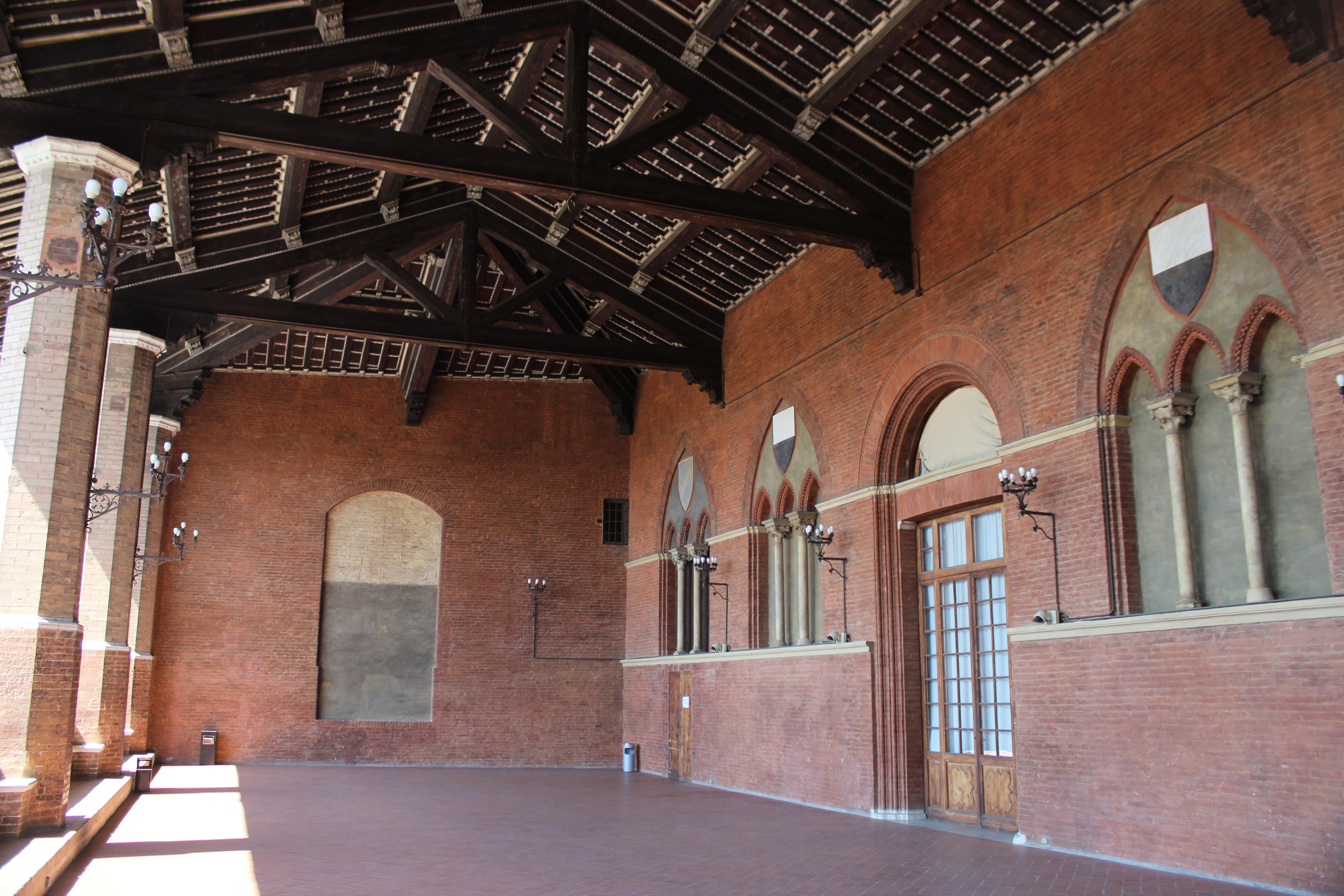Loggiadei Nove del Palazzo Pubblico, Siena