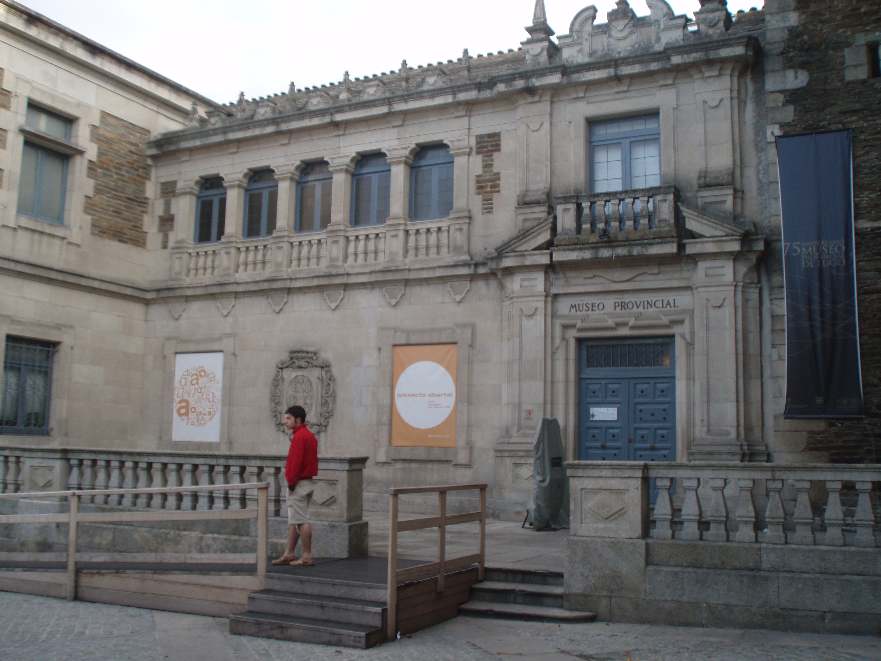 Museo Provincial de Lugo - Wikipedia, la enciclopedia libre