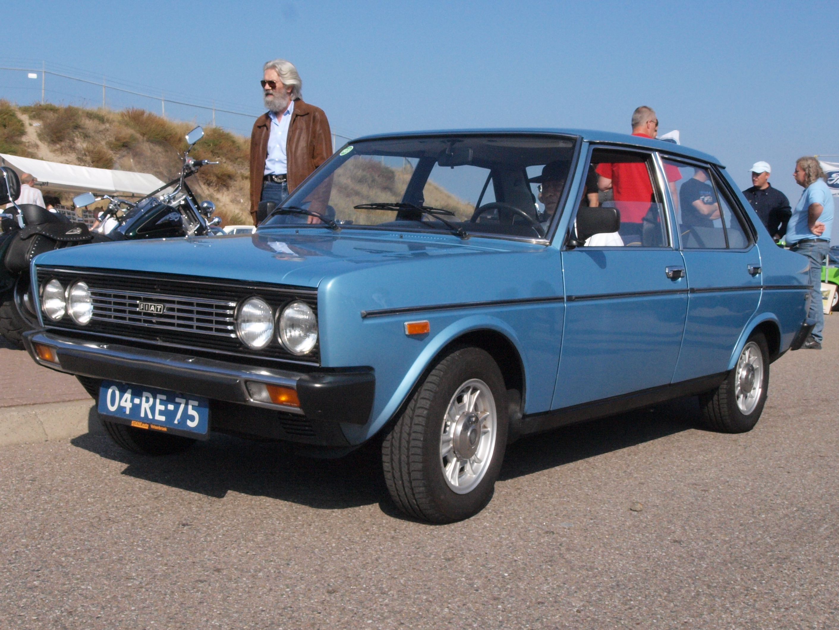 File Fiat 131 S Mirafiori 1600 Dutch Licence Registration