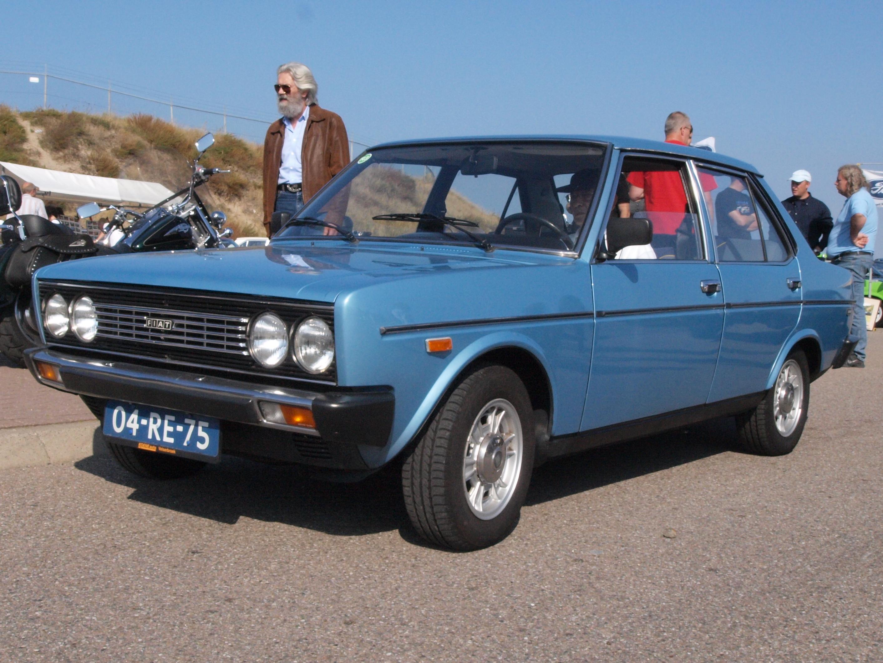 File Fiat 131 S Mirafiori 1600 Dutch Licence Registration