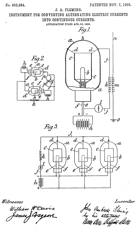 File Fleming Valve Us Patent 803 684 Jpg Wikimedia Commons