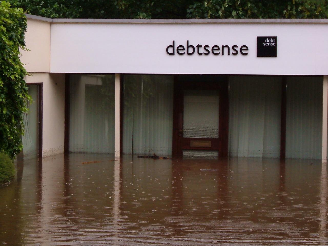 file flooded business in abbeydale jpg wikimedia commons