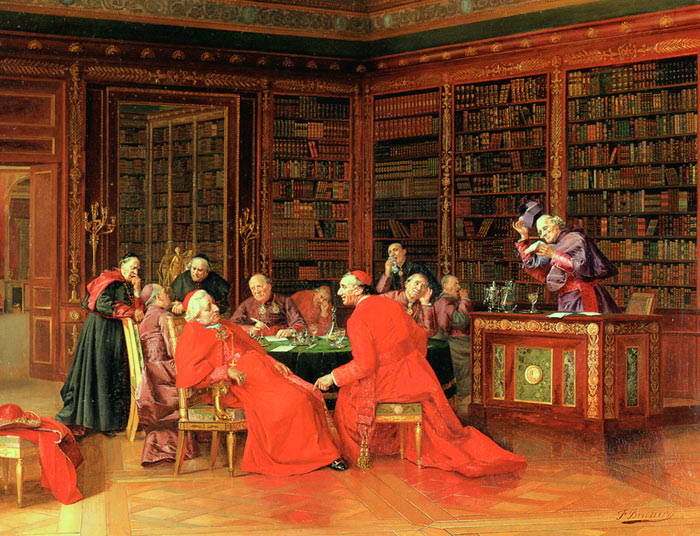 Francesco Brunery, A Tedious Conference (19th–20th century)