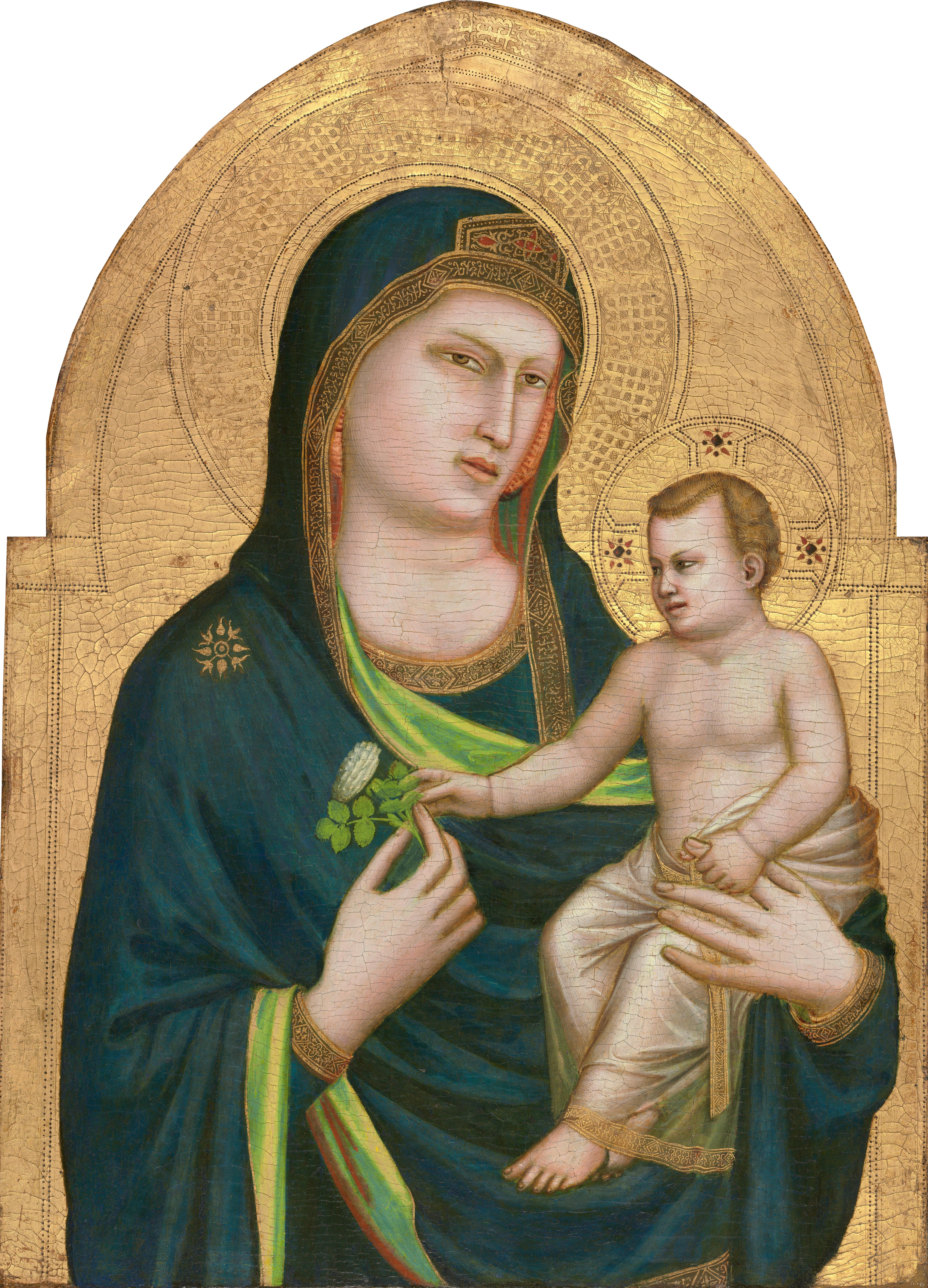 À l'école de Marie en liens et en plusieurs photos. Giotto_di_Bondone_086