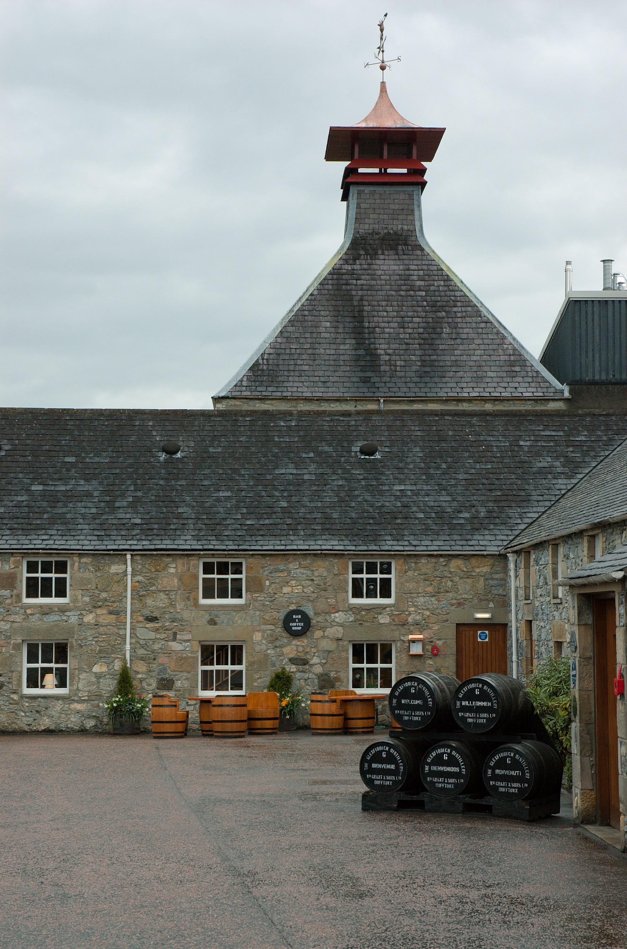 Glenfiddich Gebäude