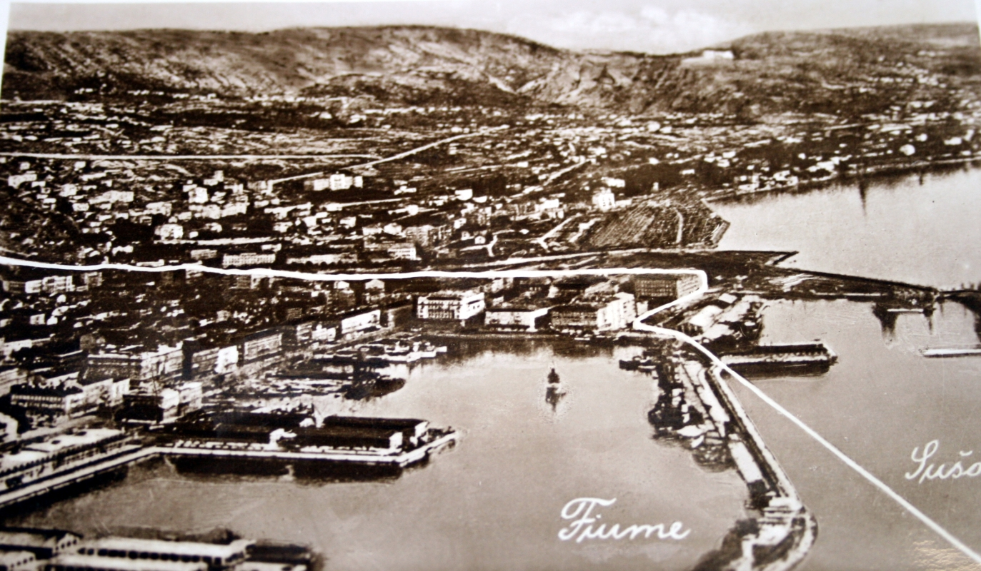 As in the last century, the city-state of Fiume was born and died for six months