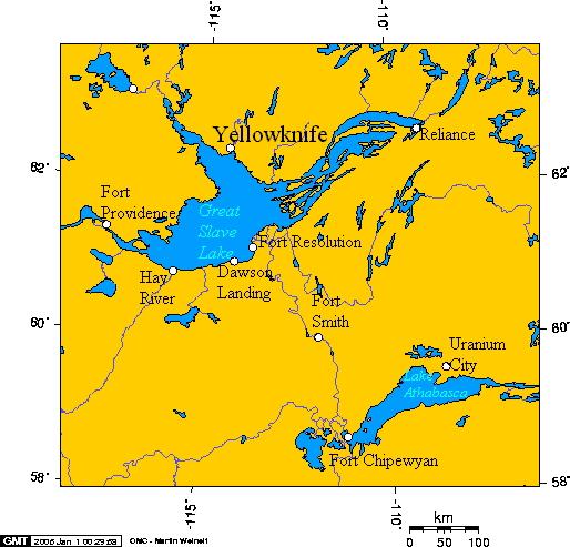 lake athabasca on map File Great Slave Lake And Lake Athabasca T Jpg Wikimedia Commons lake athabasca on map
