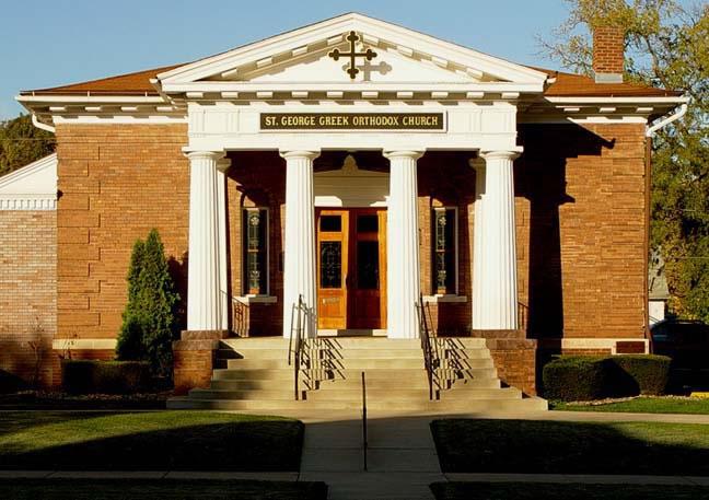 Greek Orthodox Church of St. George (Des Moines, Iowa ...