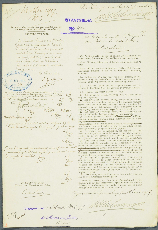 Filegrondwetswijziging 1917 Nl Hana 20214 6263 02jpg