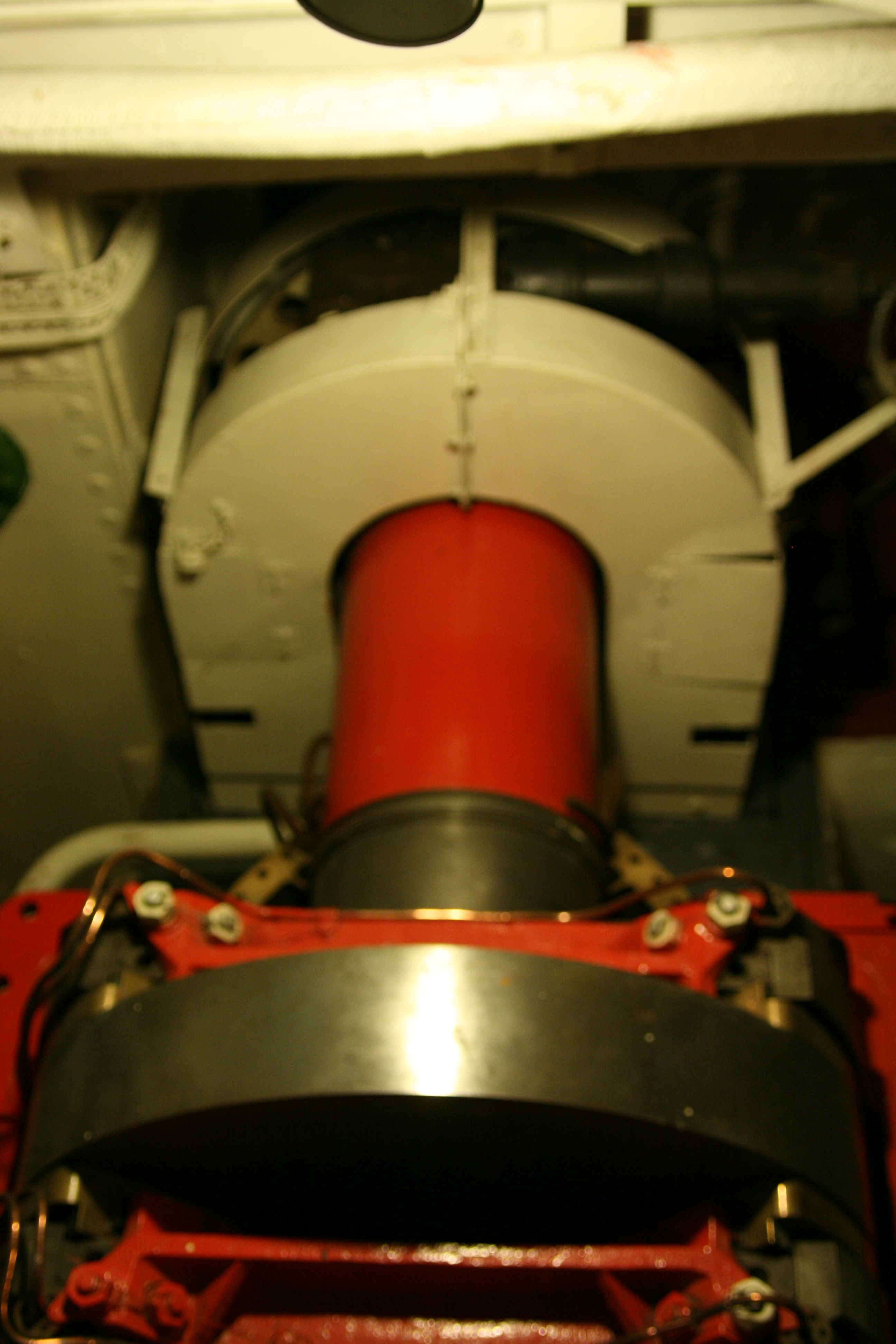 Queen Mary Engine Room: Propeller Shaft And