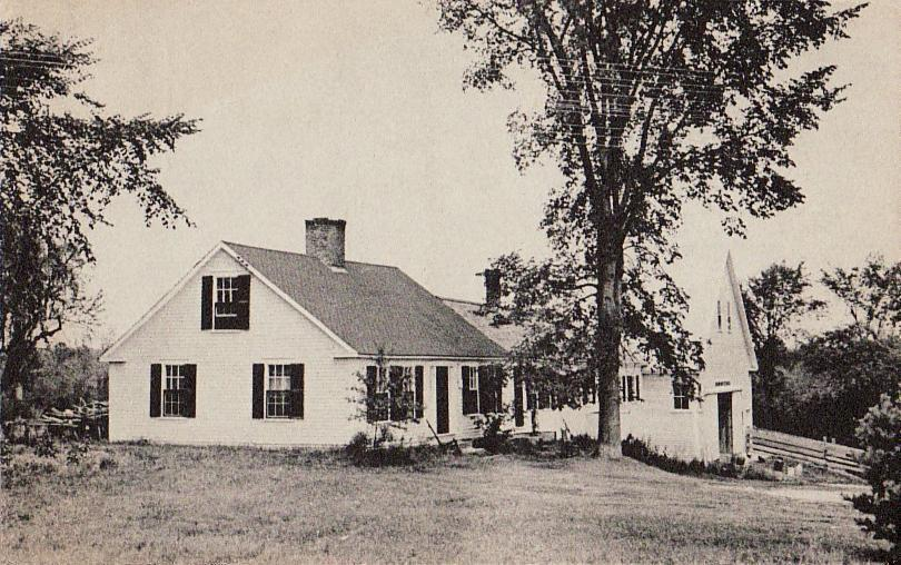 Cape Cod House Wikipedia - Colonial cape cod style house plans