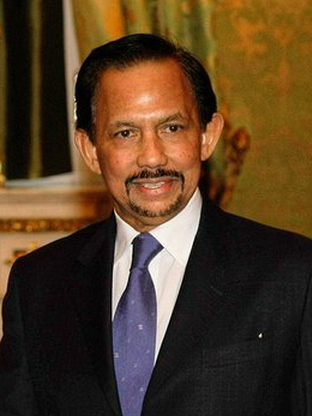Hassanal Bolkiah of Brunei
