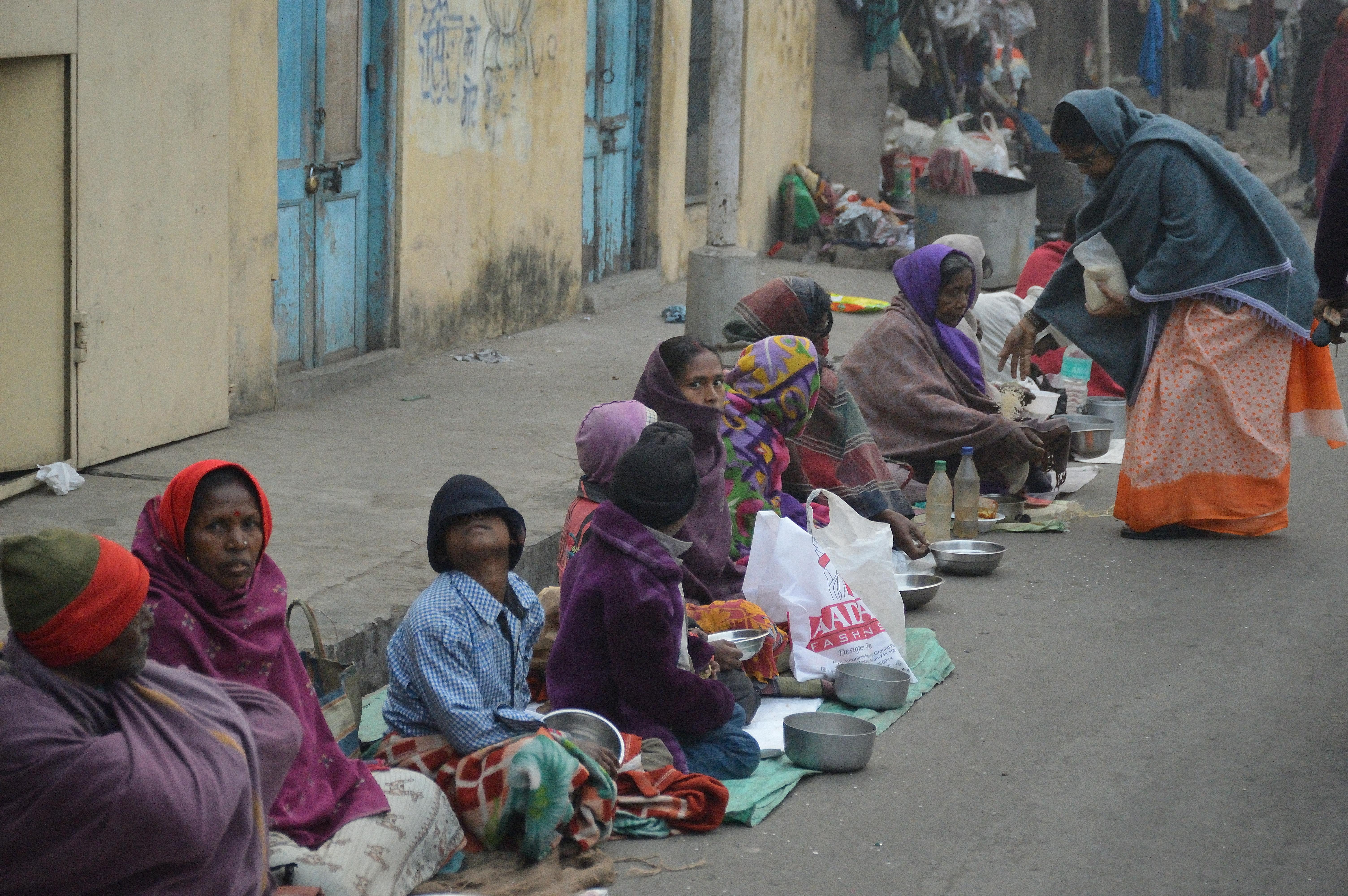 helping needy people