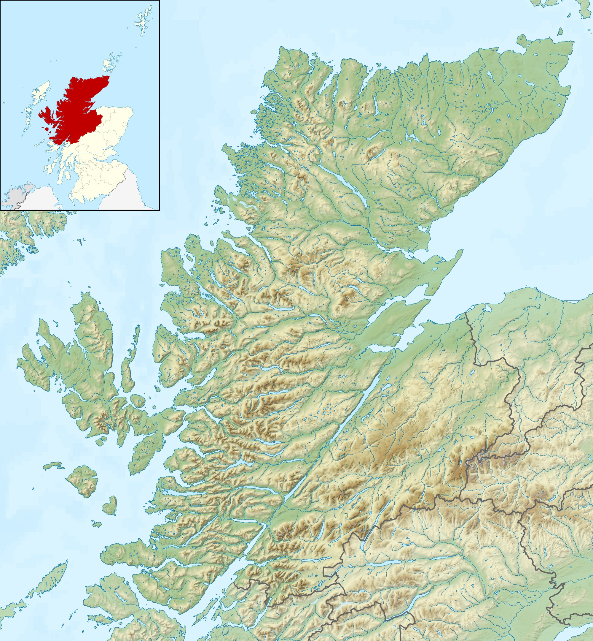 Map Of Uk Highlands.Glen Coe Wikipedia