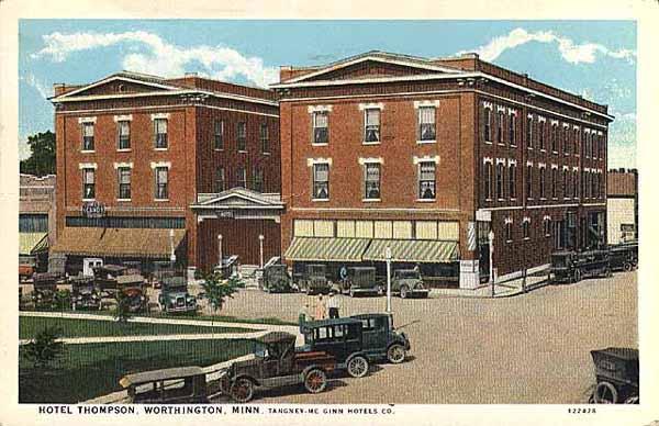 6 Hotel Thompson Worthington Minnesota