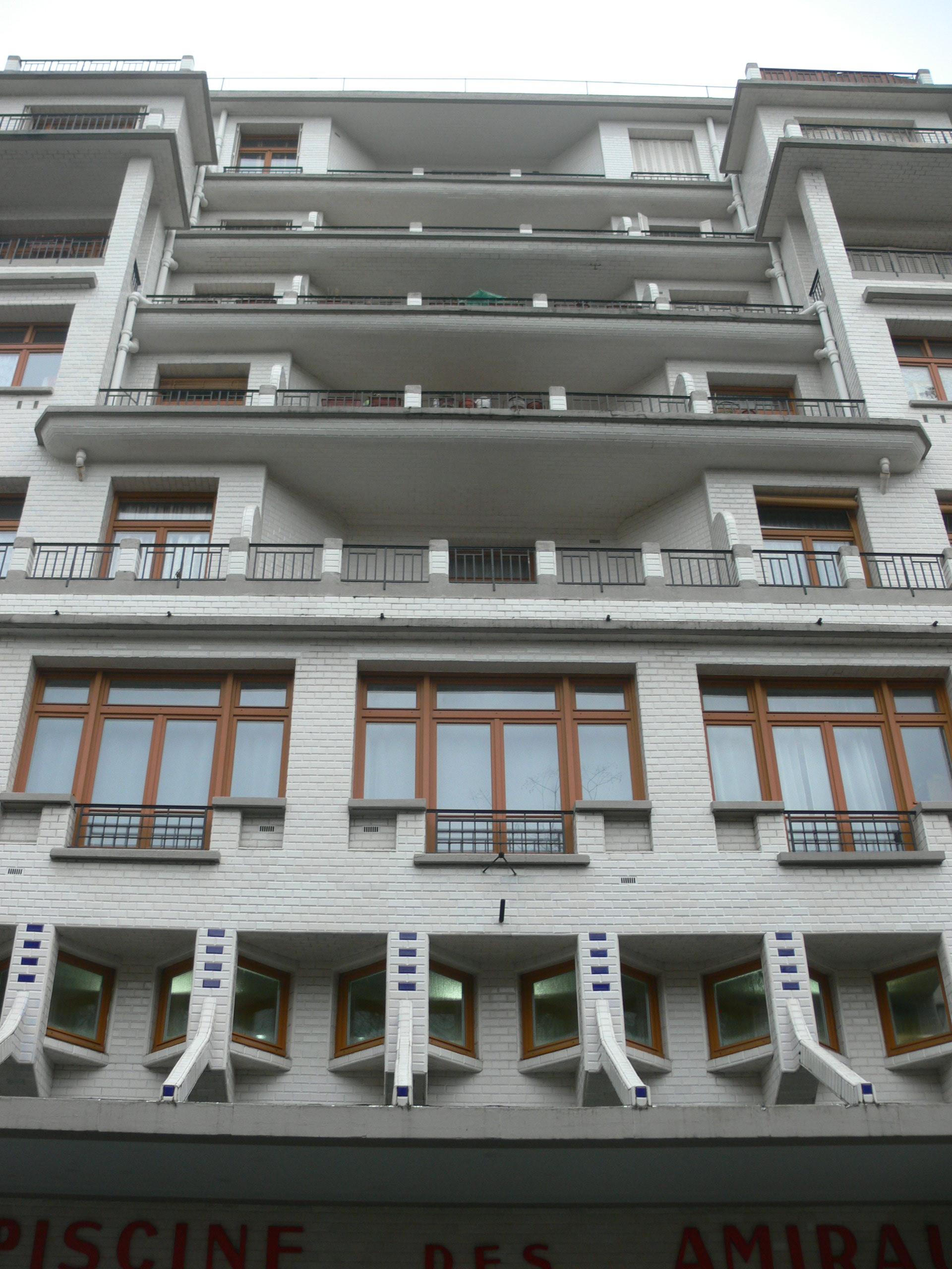 File Immeuble Sauvage Piscine Des Amiraux Balconies Rue Hermann