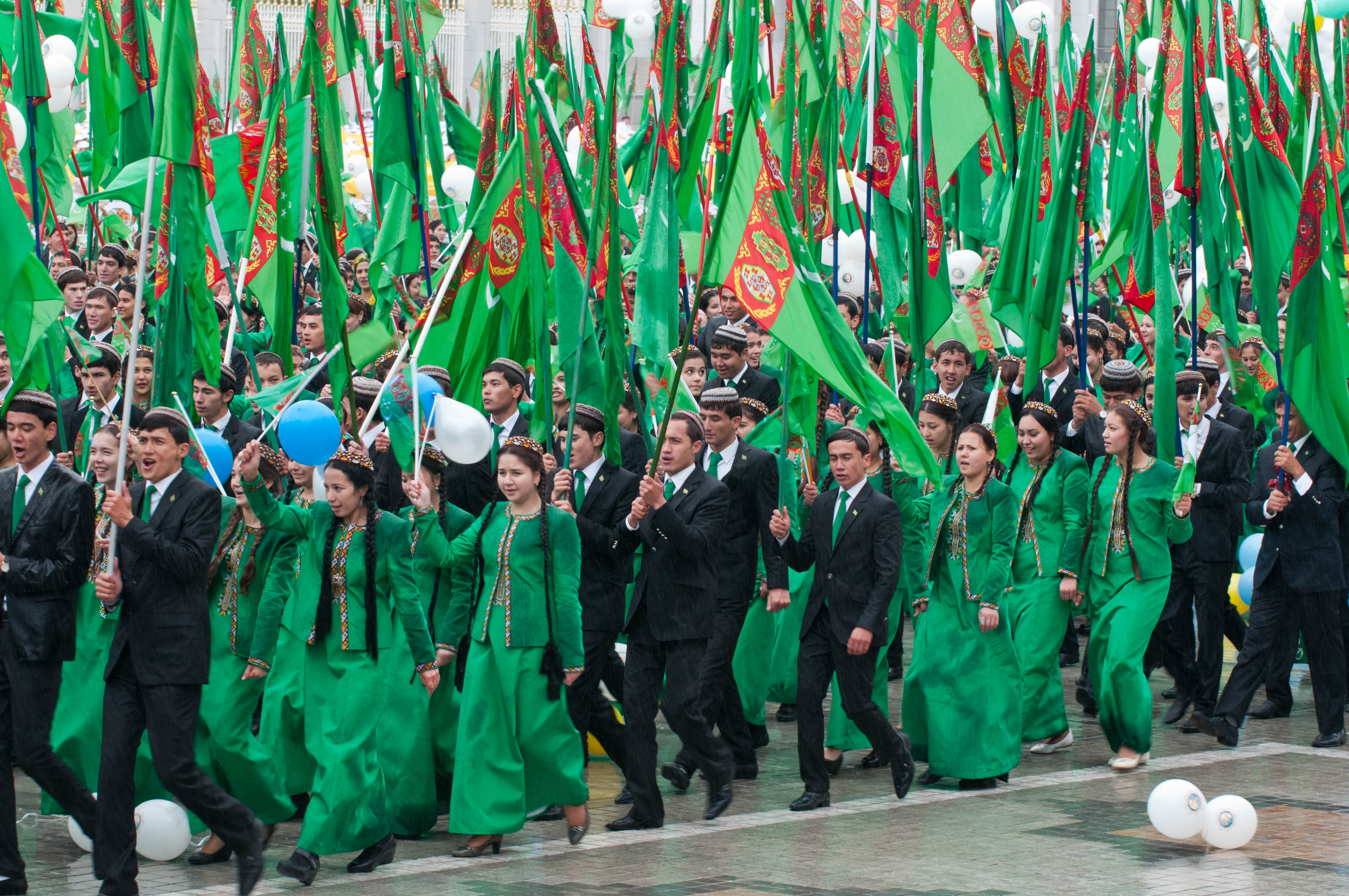 Turkmenistan celebrates Independence Day