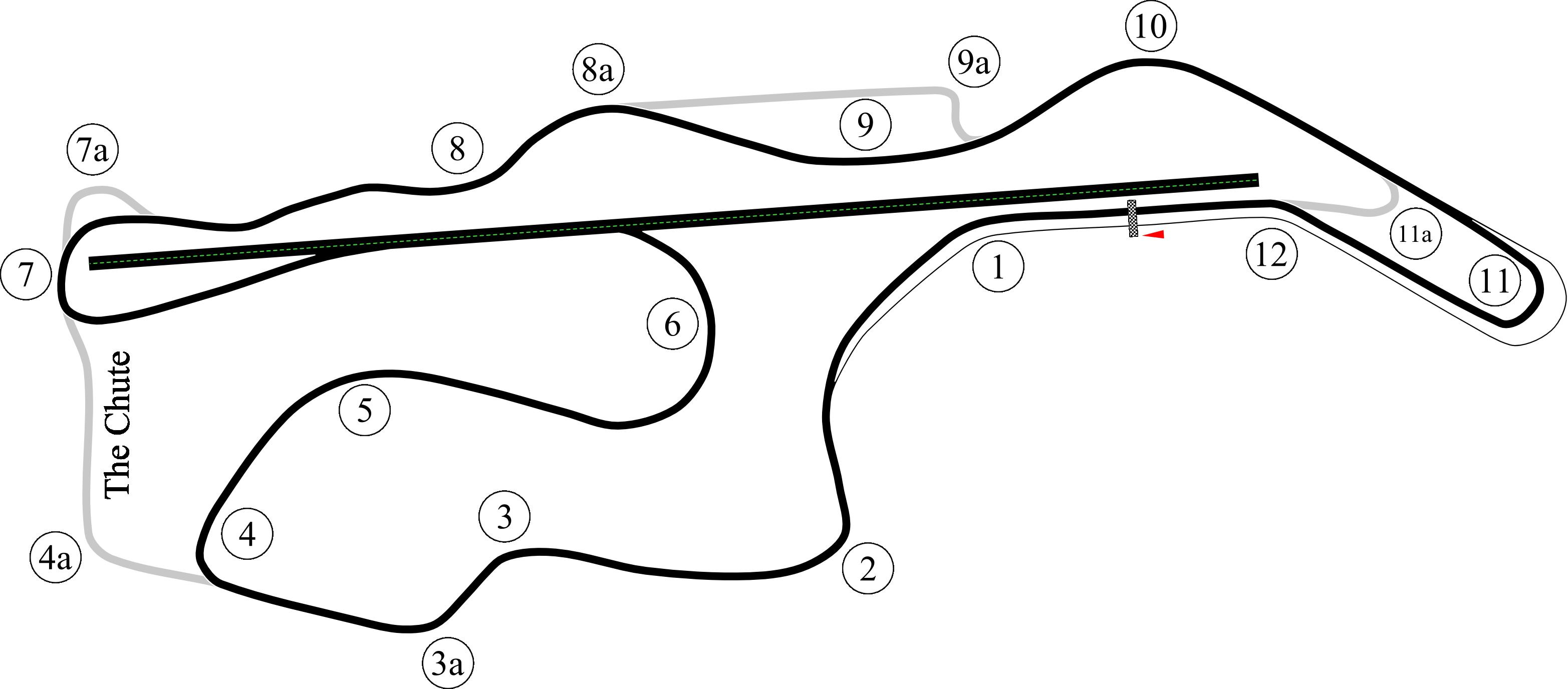 Infineon Track Map