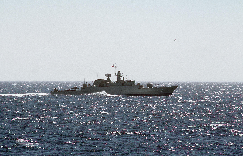 Znalezione obrazy dla zapytania Fregaty rakietowe typu Alvand