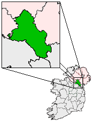 Ireland map County Monaghan Magnified.png