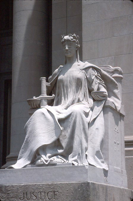 Depiction of Justicia