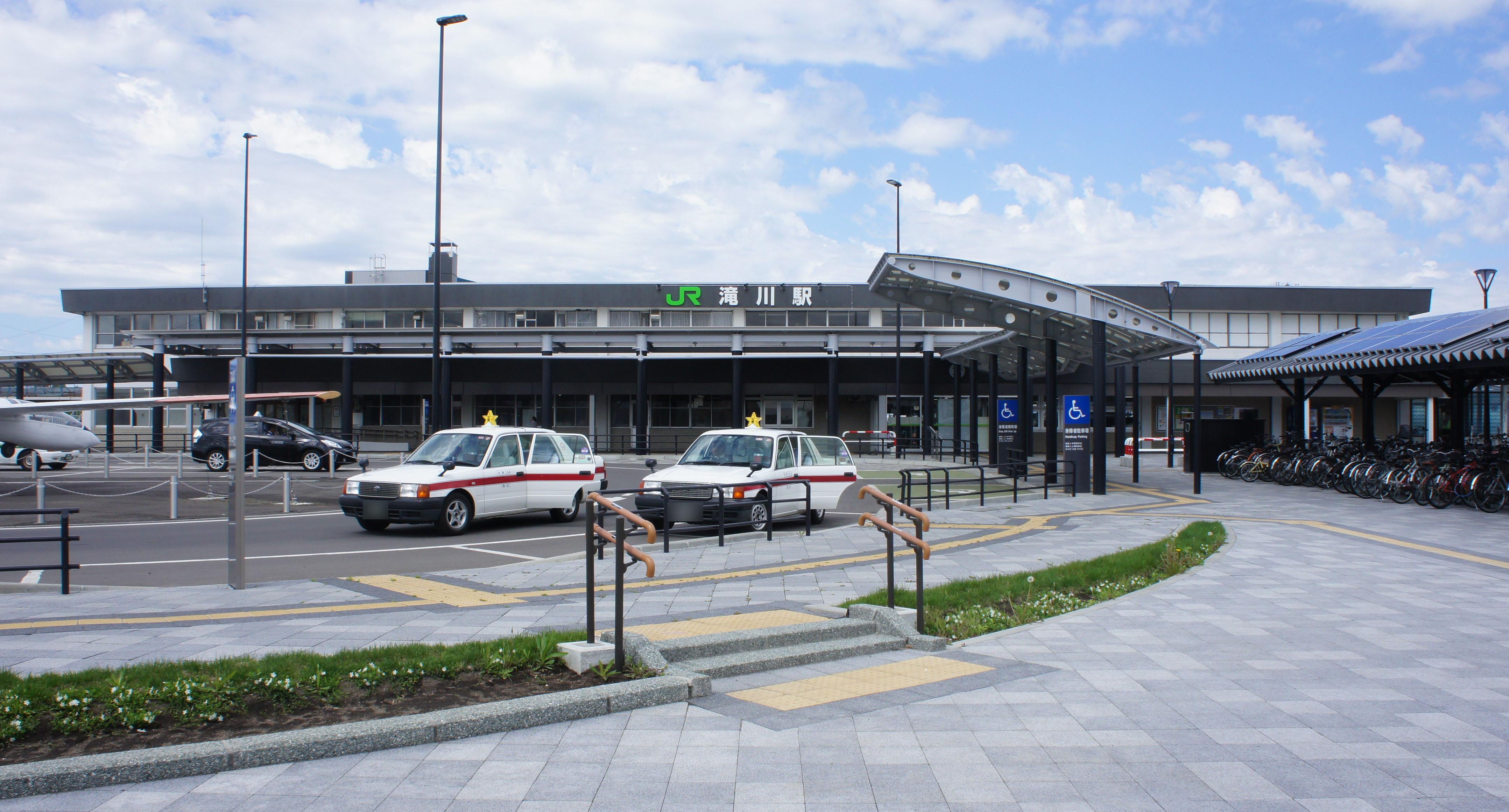 北海道赤平市 駐車場