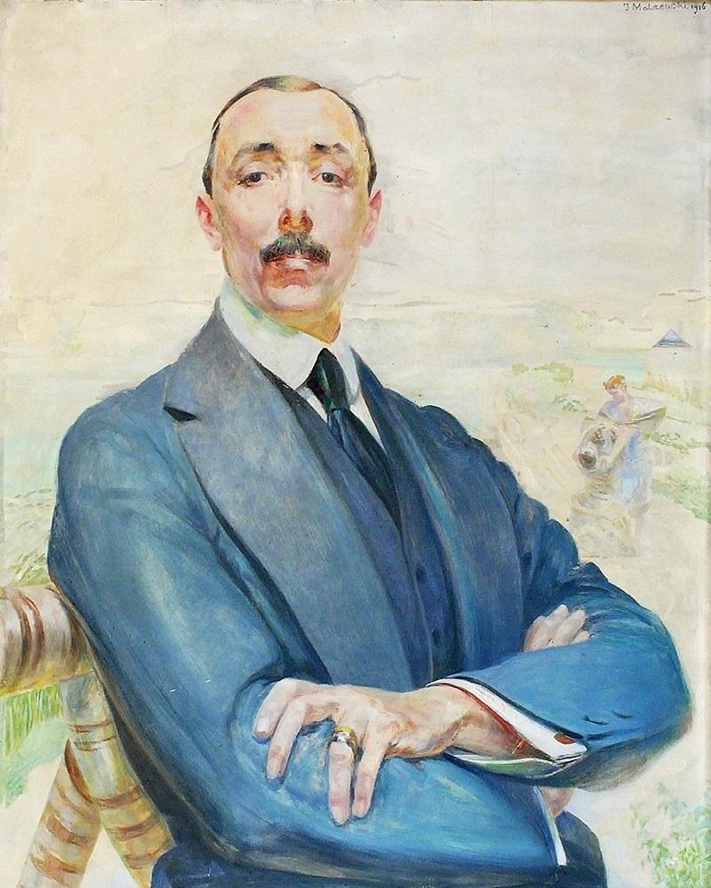 Jacek Malczewski - Portret Jana Albina Goetza Okocimskiego 1916.jpg