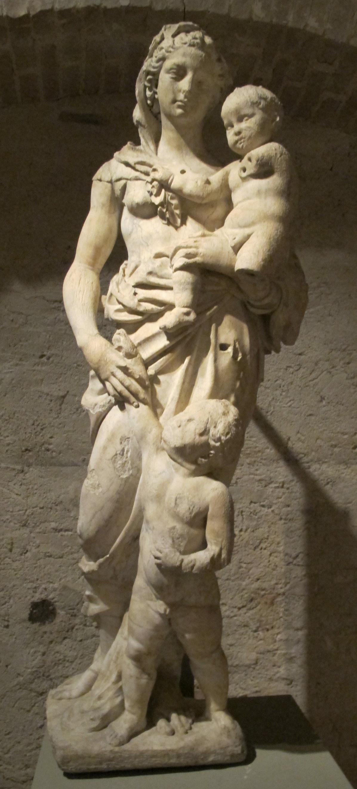 Jacopo della quercia, rea silvia 02.JPG