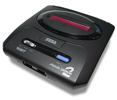 File Japanese Mega Drive 2 Png Wikimedia Commons