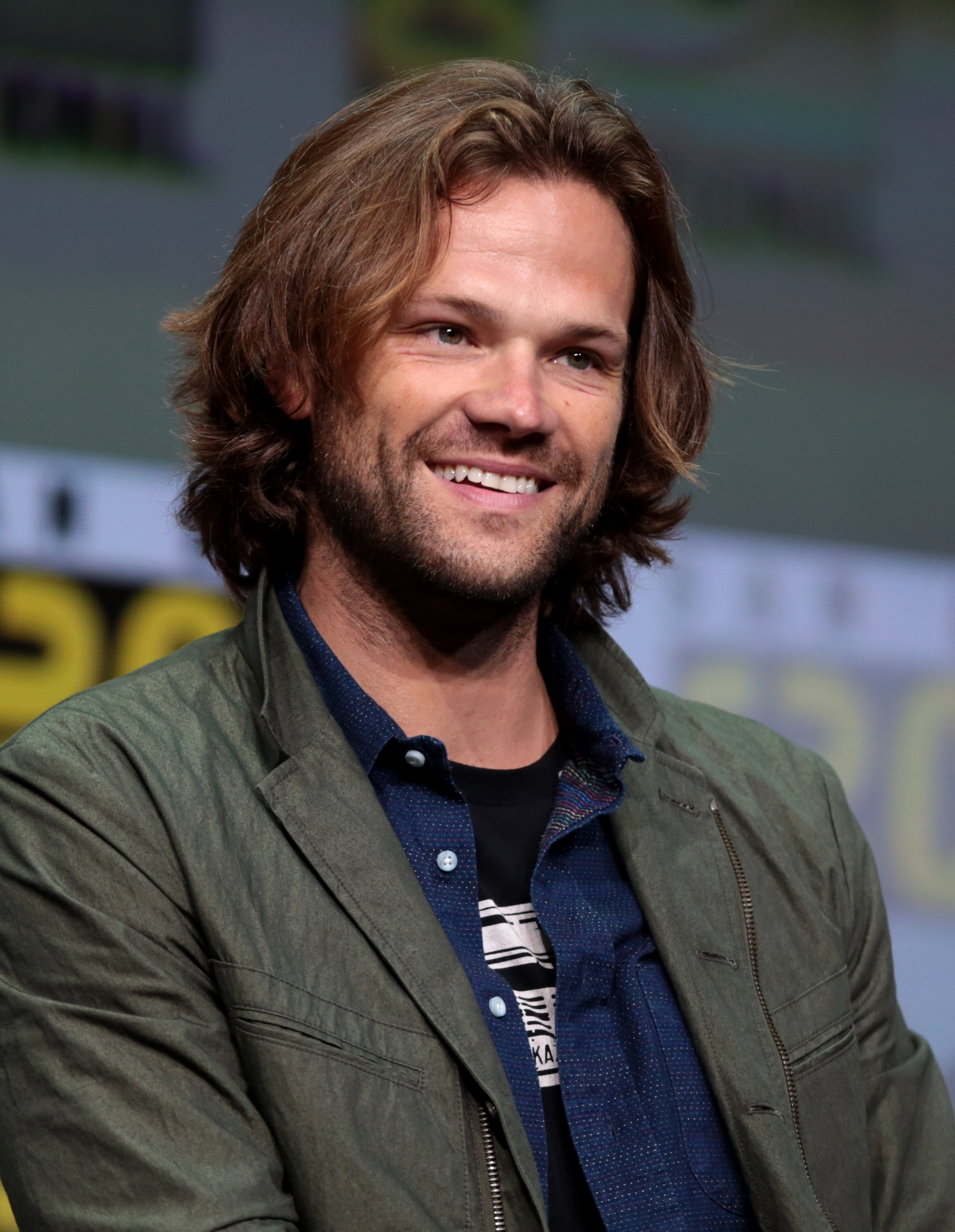 The 36-year old son of father (?) and mother(?) Jared Padalecki in 2019 photo. Jared Padalecki earned a  million dollar salary - leaving the net worth at 5 million in 2019