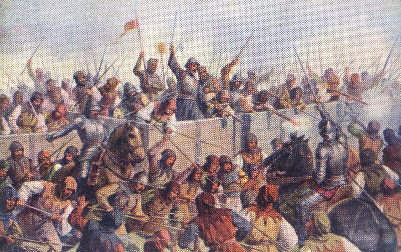 File:Josef Mathauser - Bitva u Lipan roku 1434.jpg