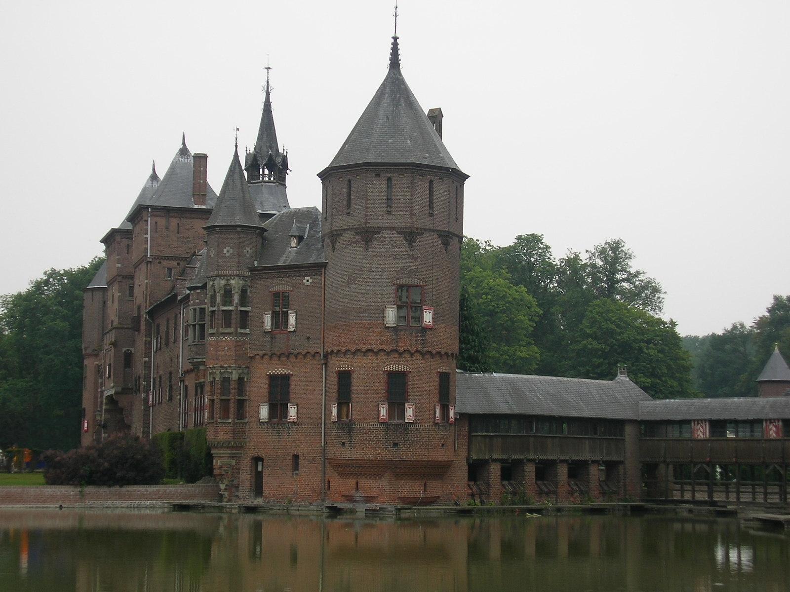 Gothic Castle Tattoo Designs