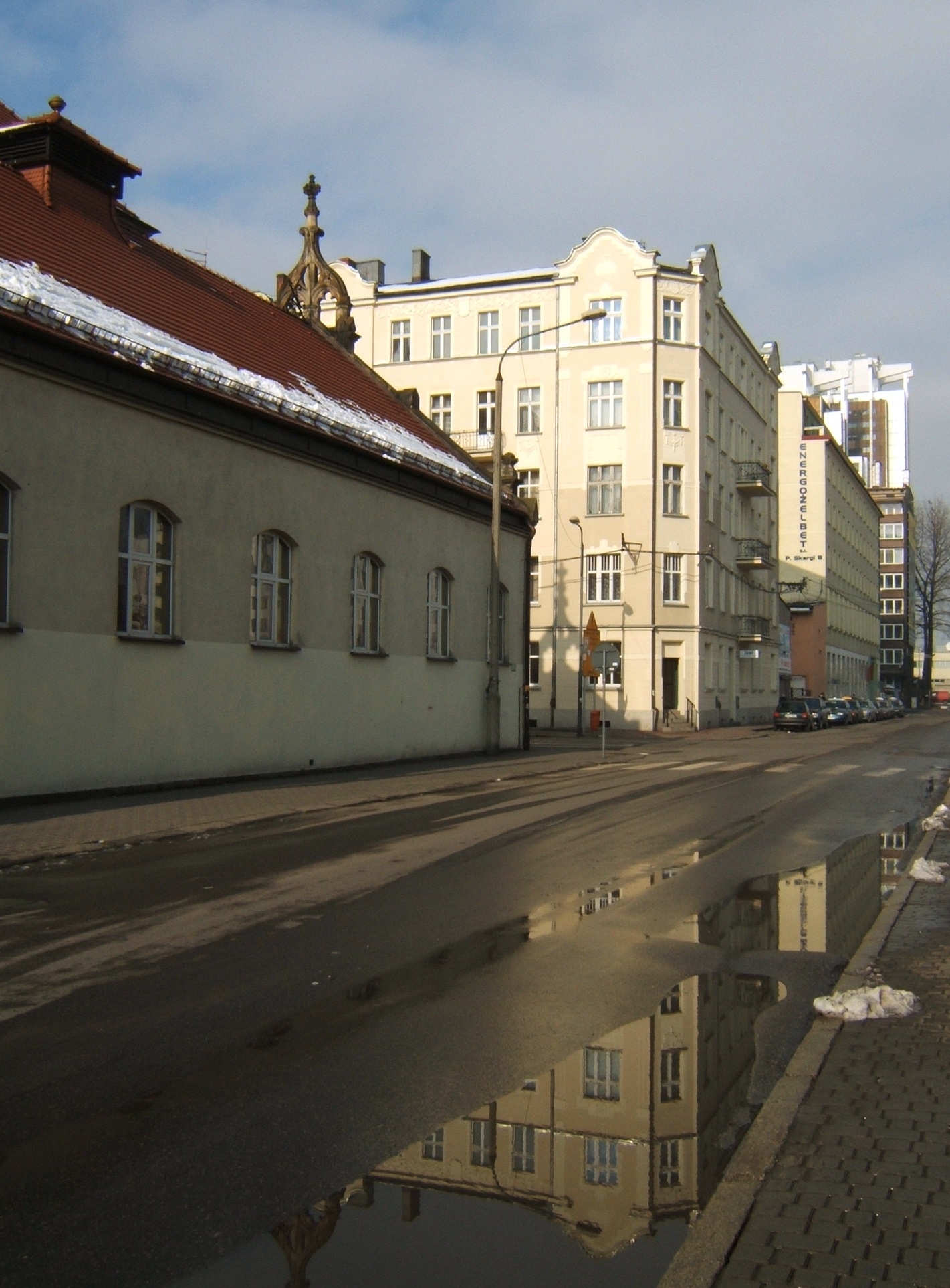 Ulica ks. Piotra Skargi w Katowicach