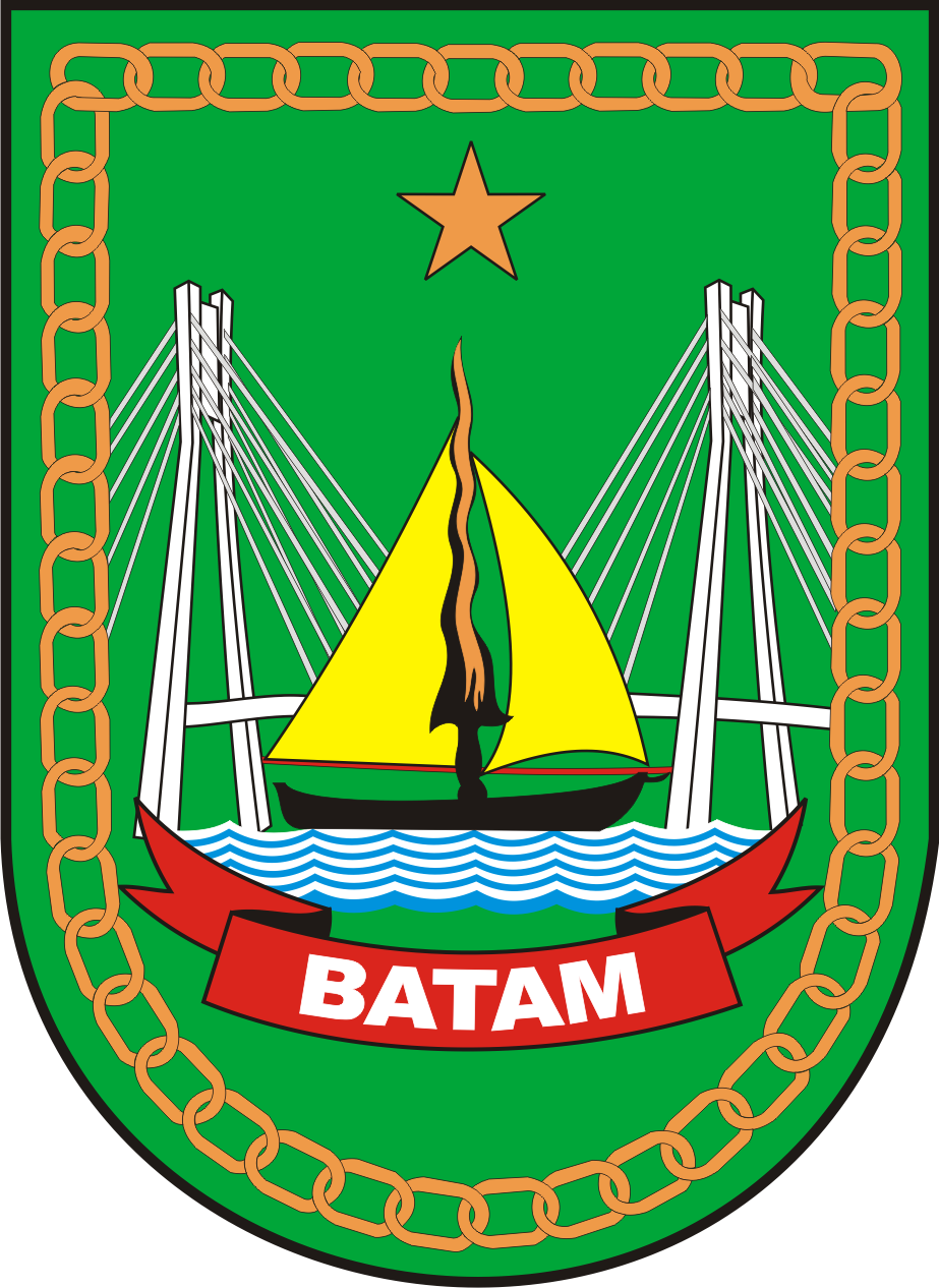 File Lambang Kota Batam Png Wikimedia Commons
