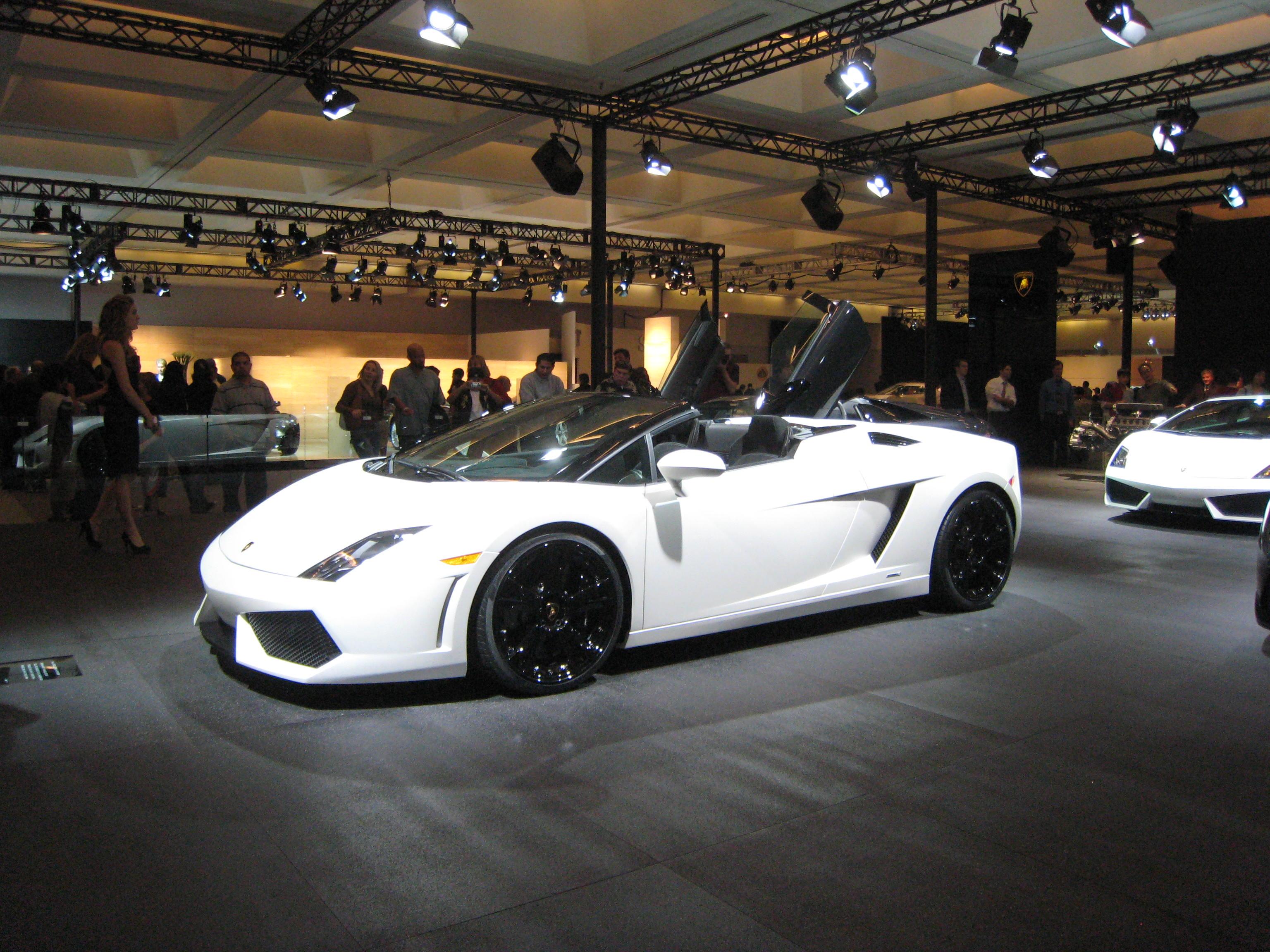 Exceptionnel File:Lamborghini Gallardo LP560 4 Spyder