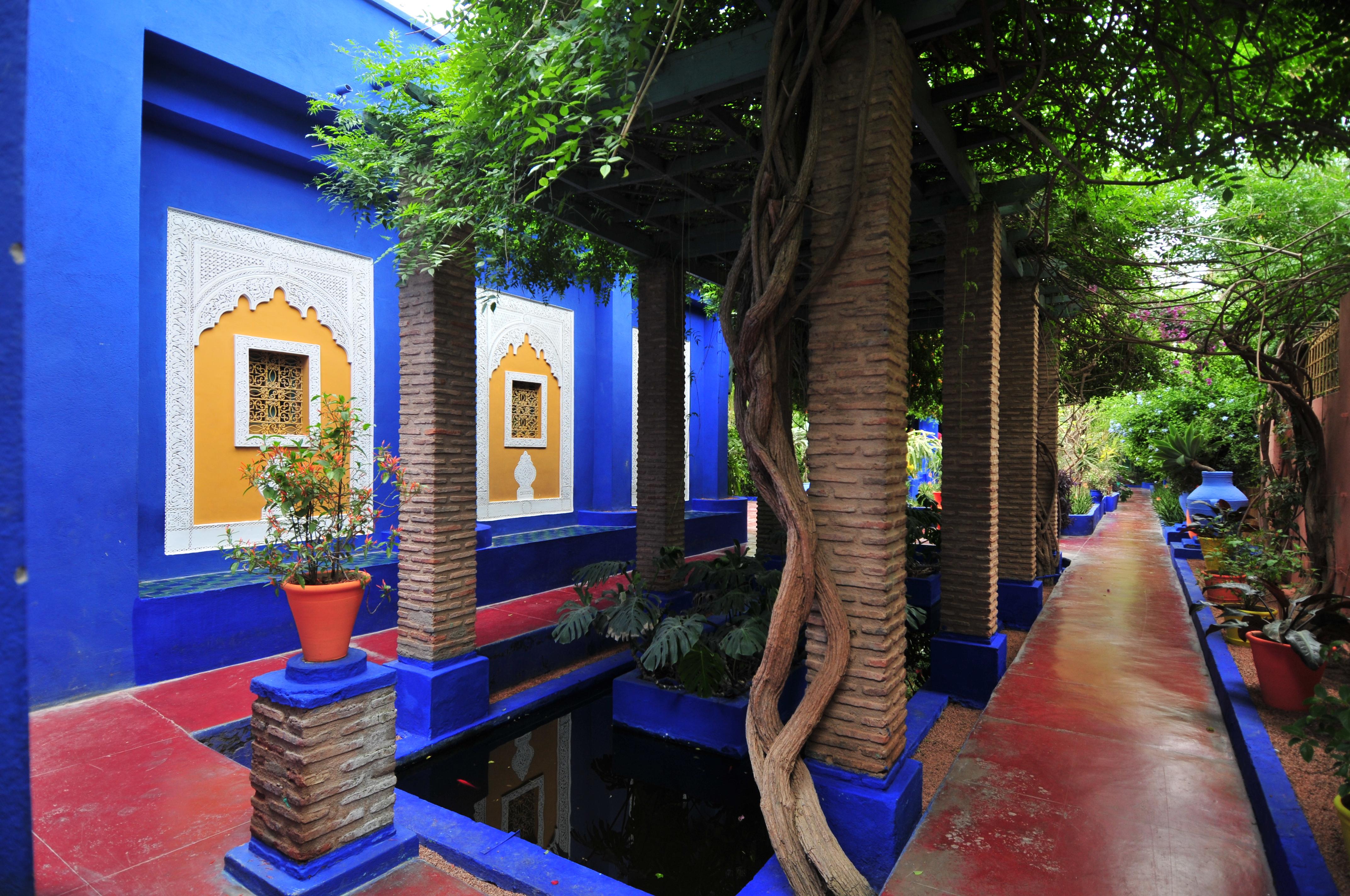 File le jardin de majorelle 01 jpg for Le jardin marrakech