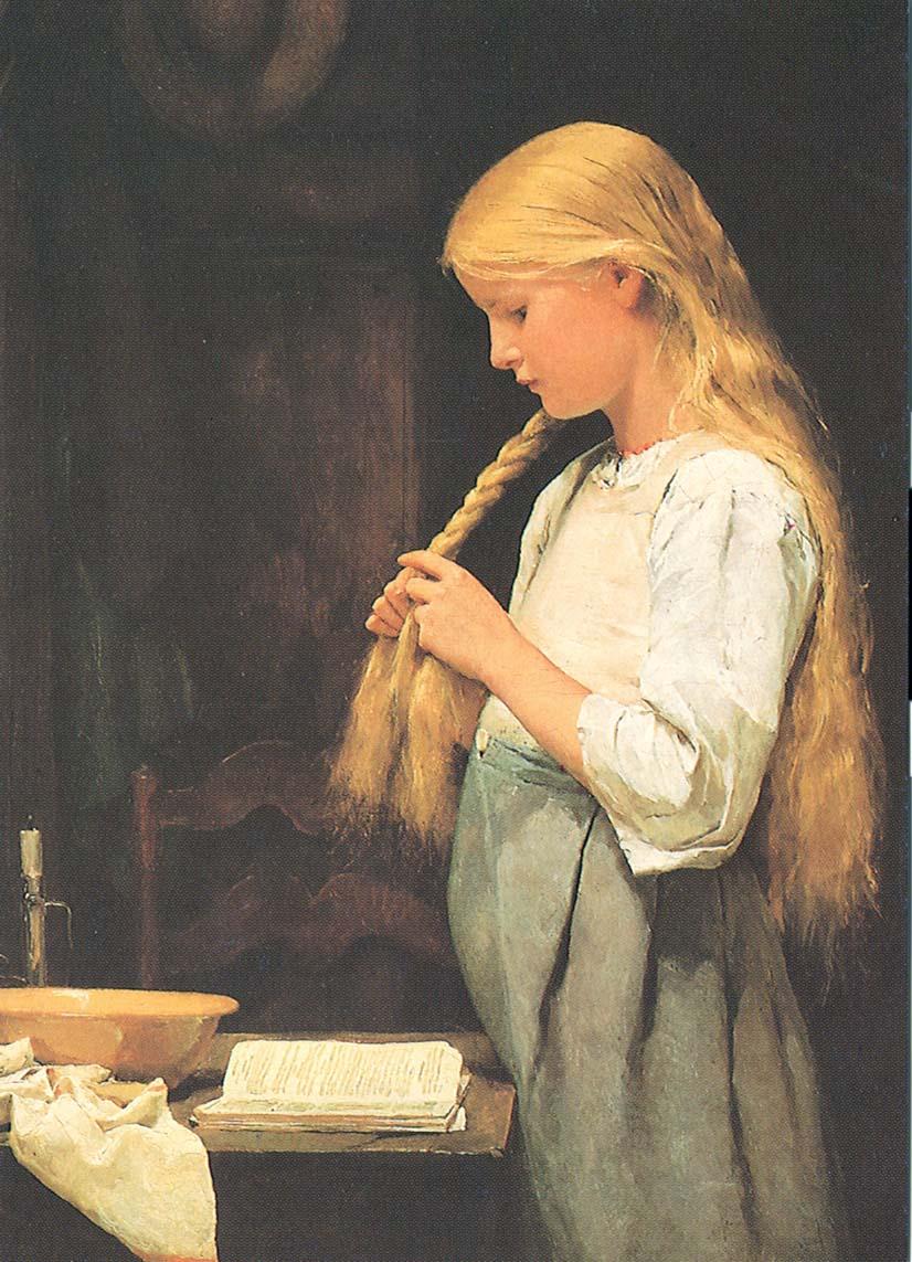 Mädchen die Haare flechtend 1887.jpg