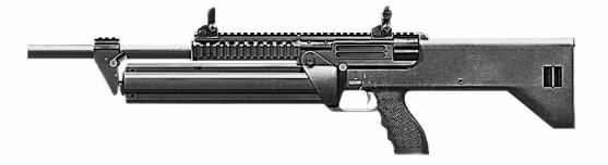 SRM M1216半自動霰彈槍 - Wikiwand M1216