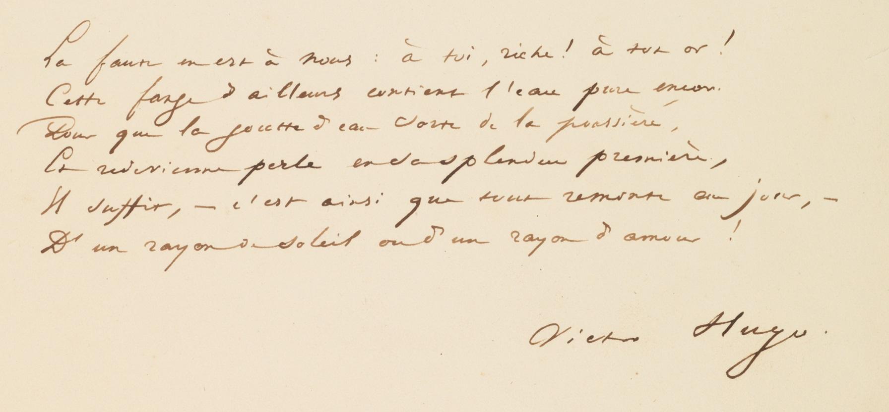 Filemanuscrit De Victor Hugo Signaturejpg Wikimedia