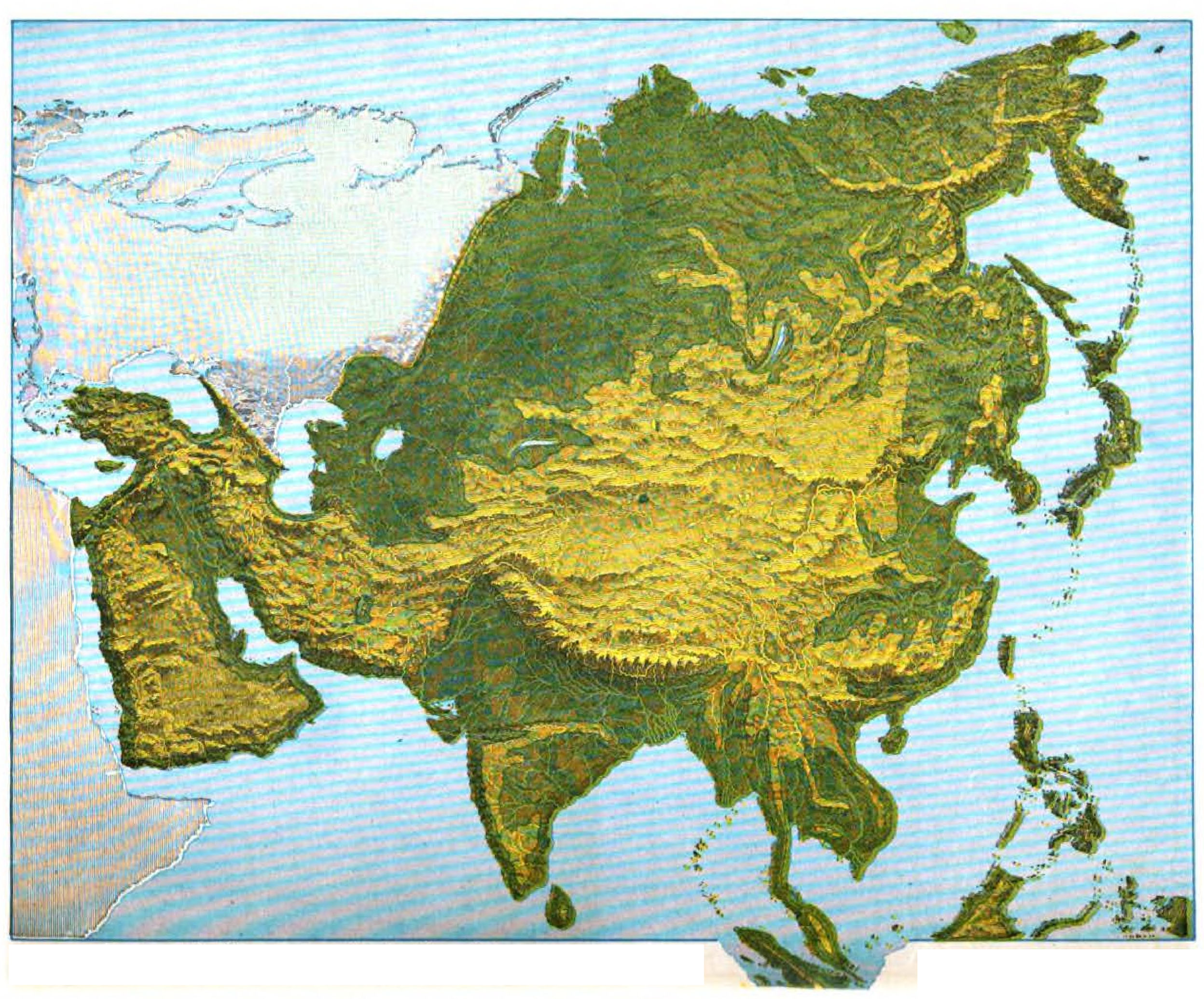 Geography Map Of Asia.File Maury Geography 115a Asia Relief Jpg Wikimedia Commons