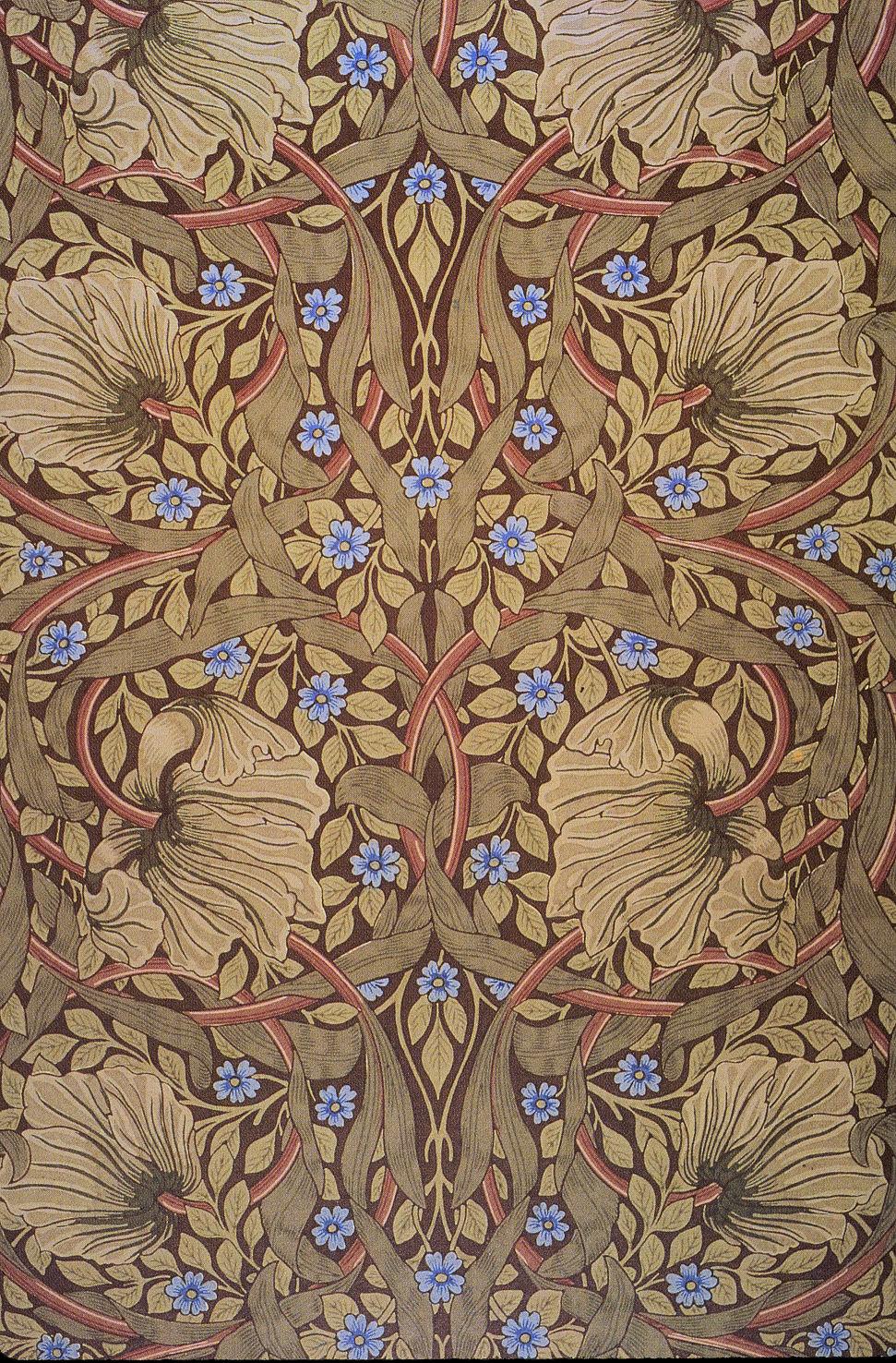 File:Morris Pimpernel printed textile 1876.jpg - Wikimedia