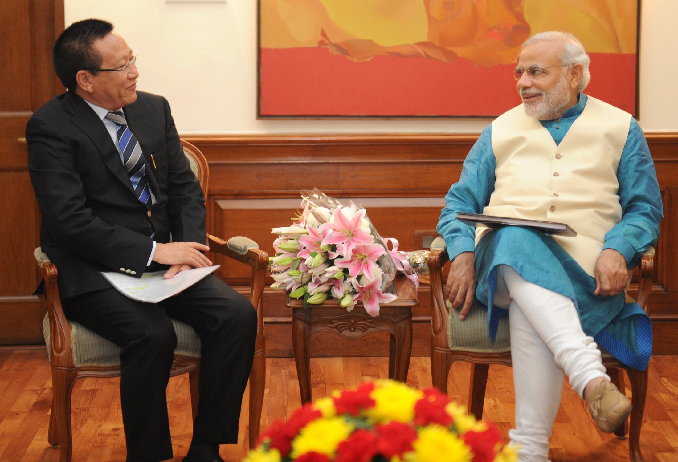 tr zeliang sworn in as 19th chief minister of nagaland