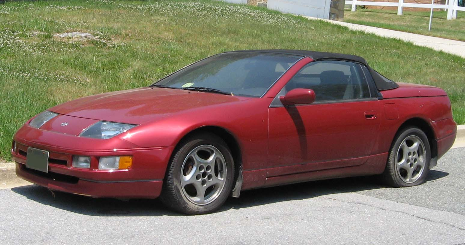 File Nissan 300zx Z32 Convertible Jpg Wikimedia Commons